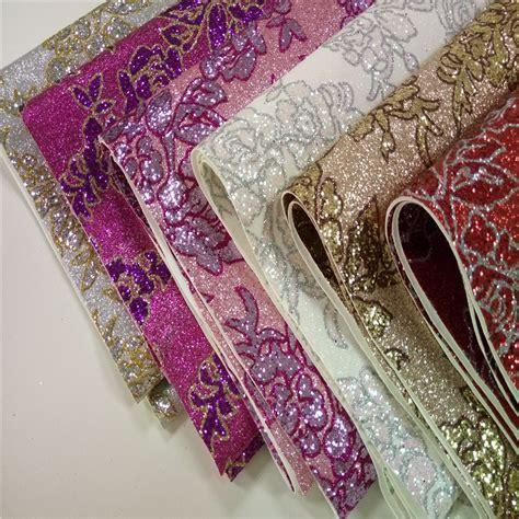 glitter wallpaper aliexpress 50m roll high quality glitter pu leather glitter fabric