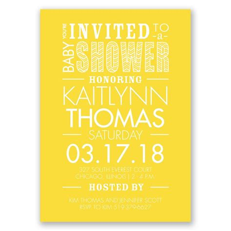 You Re Invited To A Baby Shower by You Re Invited Baby Shower Invitation Invitations By