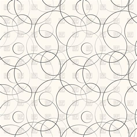 geometric line pattern vector abstract geometric pattern with curved lines and circles