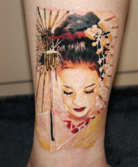 tattoo cô gái nh t geisha japanese tattoo with face nice tattoo pinterest
