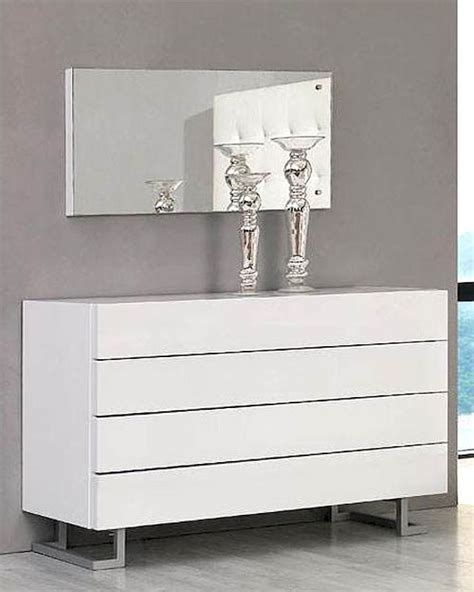 modern white dresser modern white dresser and mirror made in italy 44b4614w
