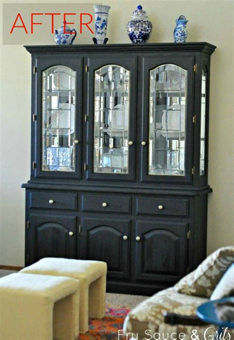 china cabinet makeover ideas 8 hutch makeovers we can t stop looking at hometalk