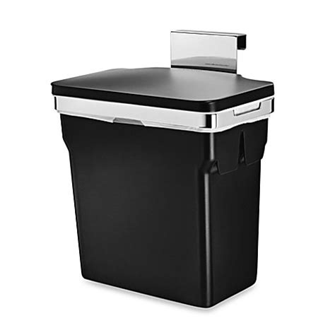 bed bath and beyond simplehuman trash can simplehuman 174 10 liter in cabinet can bed bath beyond