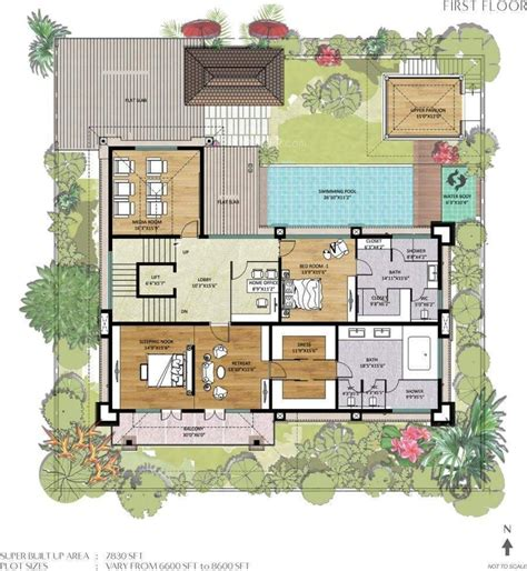 bali style house floor plans balinese style house floor plans