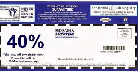 bed bath coupon online bed bath and beyond online coupon printable