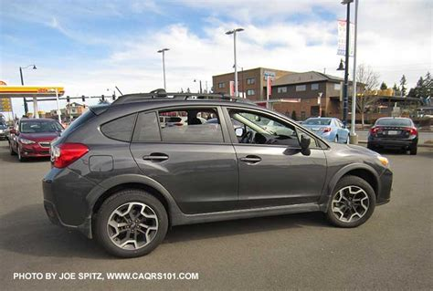 grey subaru crosstrek 2017 2017 subaru crosstrek exterior photo page 1 2 0i