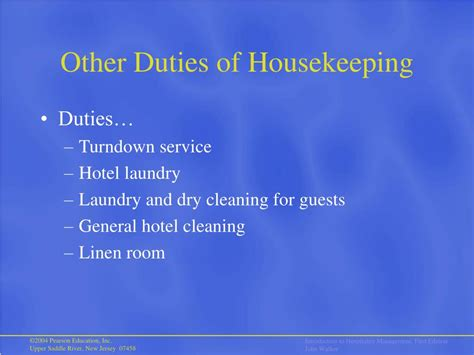 ppt hotel organization hotel and rooms division operation powerpoint presentation id 284111