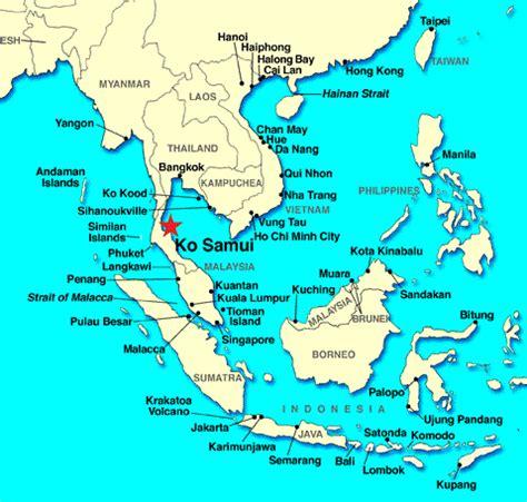 printable map koh samui thailand koh samui karte hanzeontwerpfabriek