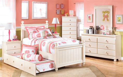 cottage retreat bedroom furniture cottage retreat youth poster trundle bedroom set from