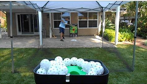backyard batting cages personal pitcher pitching machines for baseball softball