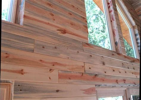 stained wood panels blue stain pine paneling rustic wood pinterest