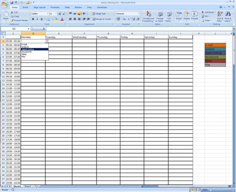 Improve Your Time Management With A Time Log Babbling Engineer Time Management Template Excel