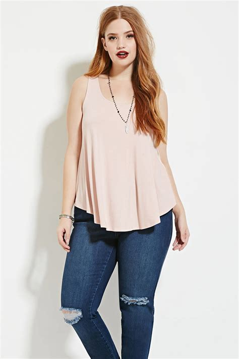 Forever 21 Top Size S 9 forever 21 plus size crisscross top in lyst