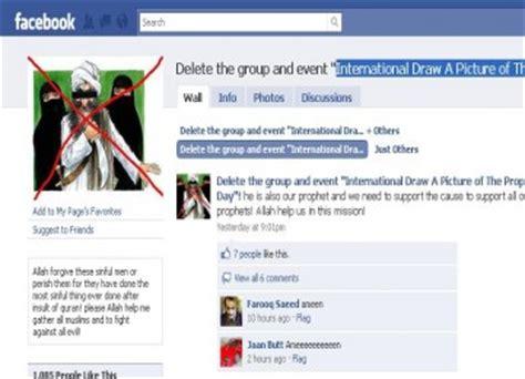 resetting nabi id facebook hapus akun yang memuat kartun nabi muhammad