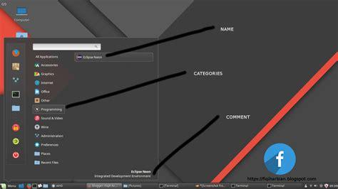 cara membuat zip di linux cara membuat shortcut aplikasi di linux agar muncul di