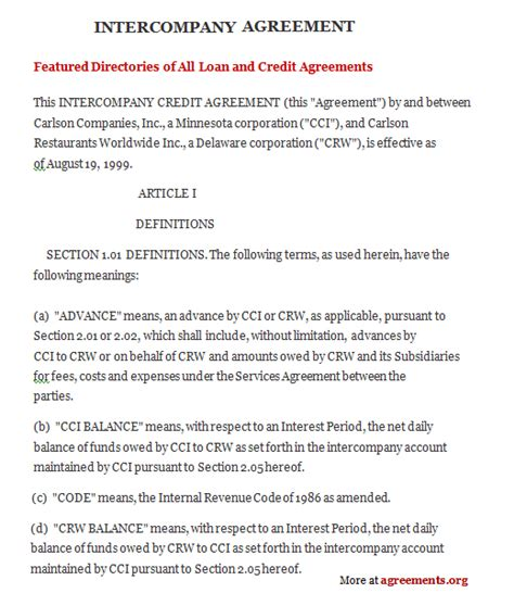 professional agreement format examples   companies thogati