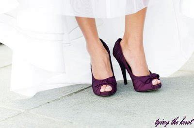 plum colored high heels it s a shoe bandwagon and i must get on weddingbee