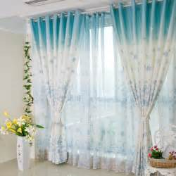 Floral Design Curtains Beautiful And Pretty Bedroom Or Living Room Blue Floral Curtains