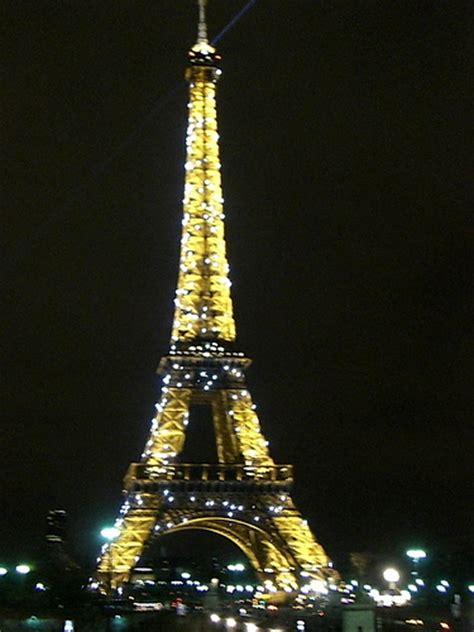 Eiffel Tower Light Show by Eiffel Tower Light Display 10pm Flickr Photo