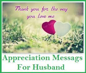 appreciation letter for your husband appreciation messages husband thank you messages