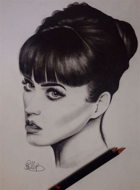 katy perry portrait tattoo 1000 images about personal work on pinterest
