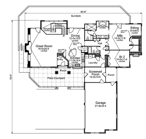 2100 sq ft house plans craftsman style house plan 2 beds 2 baths 2100 sq ft