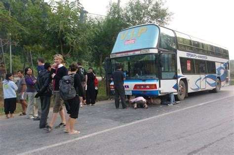 viaje en autobs 8423342352 viaje en bus por tailandia paperblog