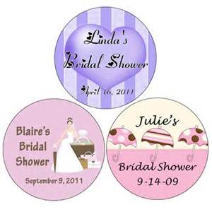 35 personalized bridal shower labels 1 25 quot wrapwithus