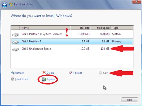 how to partition hard drive in windows 7 without formatting partition the hard drive in a windows 7 install windows