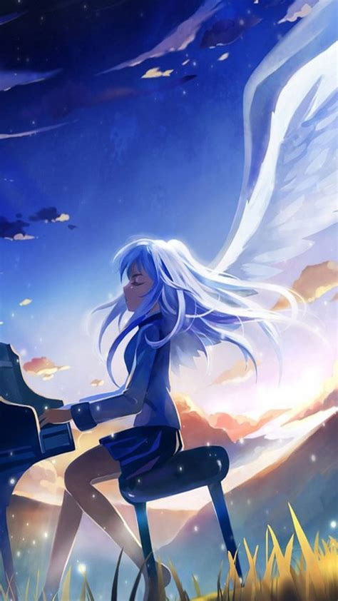 anime wallpaper hd samsung piano wallpaper angel beats wallpapers hd anime 1080x1920