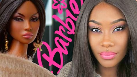 tutorial makeup barbie natural black barbie inspired makeup tutorial drugstore makeup