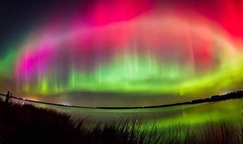 What Time Can We See The Northern Lights Tonight by Northern Lights Time Lapse Of