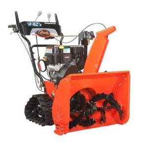 snow blowers at home depot ariens compact track 24 in two stage electric start gas