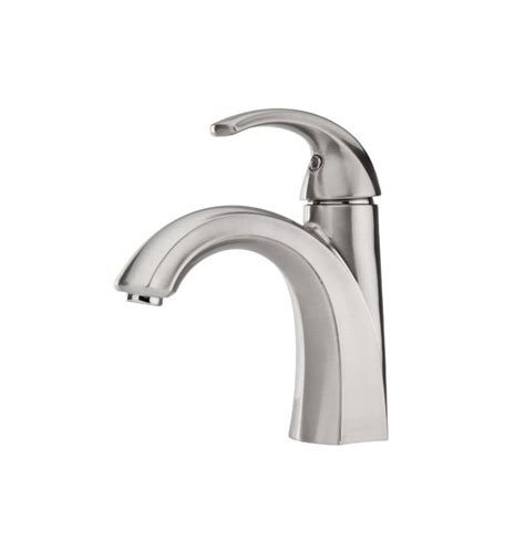 pfister selia bathroom faucet faucet com f 042 slkk in brushed nickel by pfister