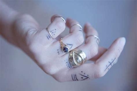 pen tattoo on hand tumblr ring grunge hand tattoo fake soft pen rings pale paleskin