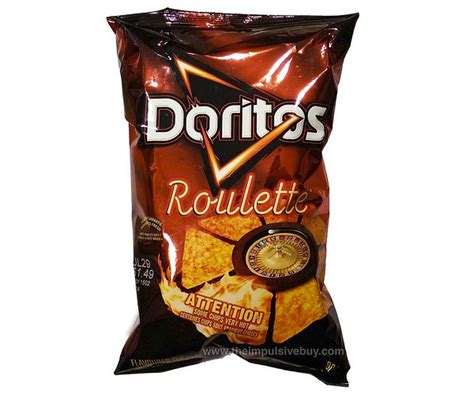 hot chips in black bag new doritos roulette bags contain one extremely spicy chip