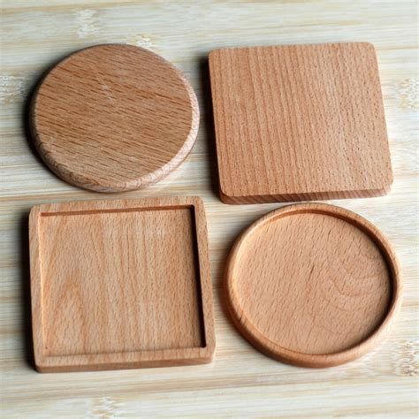 0029 beech solid wood classic wooden placemats promotion shop for promotional wooden placemats on aliexpress