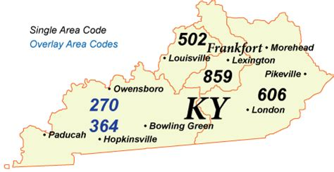 map kentucky area codes distance local access numbers in kentucky
