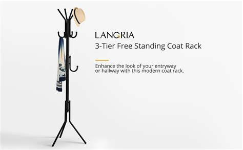 planning ideas unique standing coat racks modern types langria metal coat rack free standing display stand hall