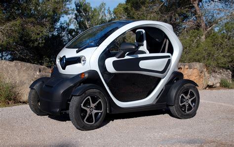 renault smart car renault twizy electric minicar drive report