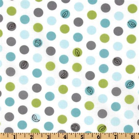 backyard baby fabric michael miller michael miller backyard baby lotsa dots white discount