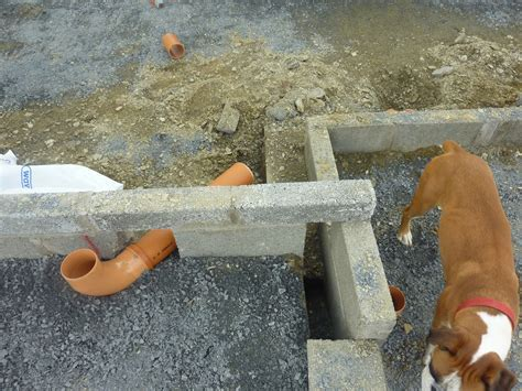 40 Pvc Pipe In Concrete Slab, Pipe Installation In