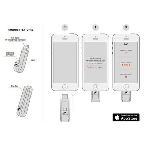 Leef Ibrigde 16gb Usb Otg For Iphone 16gb White Original stick usb lightning leef ibridge otg 16gb pt apple iphone 5 6