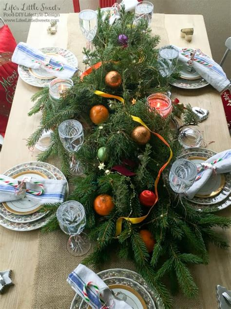 xmas tree table arrengment images diy table centerpiece s