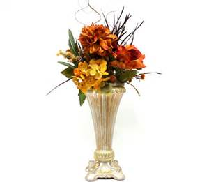 Silk Flower Arrangements For Dining Room Table Silk Flower Arrangement Wedding Table Centerpiece Dining Room