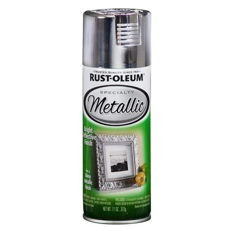 shop rust oleum specialty silver metallic 11 oz at lowes