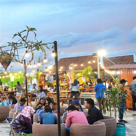tempat makan kekinian  konsep outdoor  yogyakarta