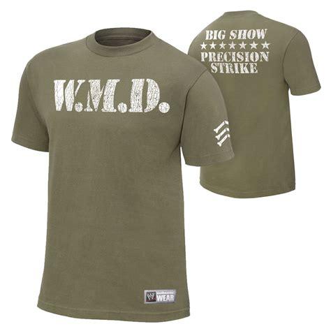 Tshirt Big Show big show quot wmd quot t shirt pro wiki divas