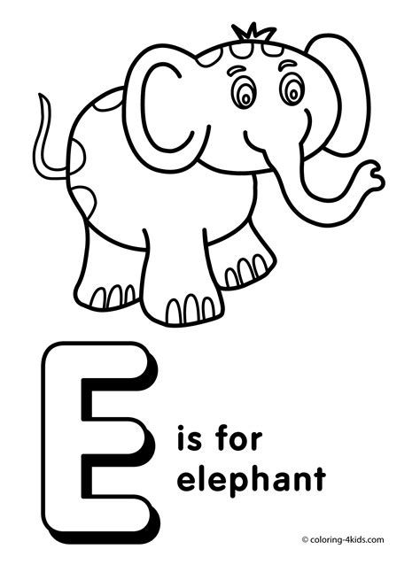 coloring pages for your letter e coloring sheets wallpaper