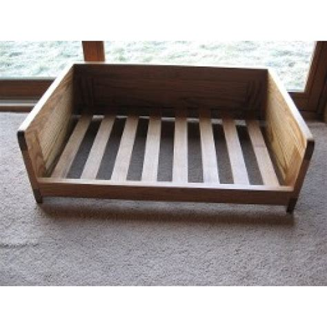 wooden dog beds ash wooden dog bed